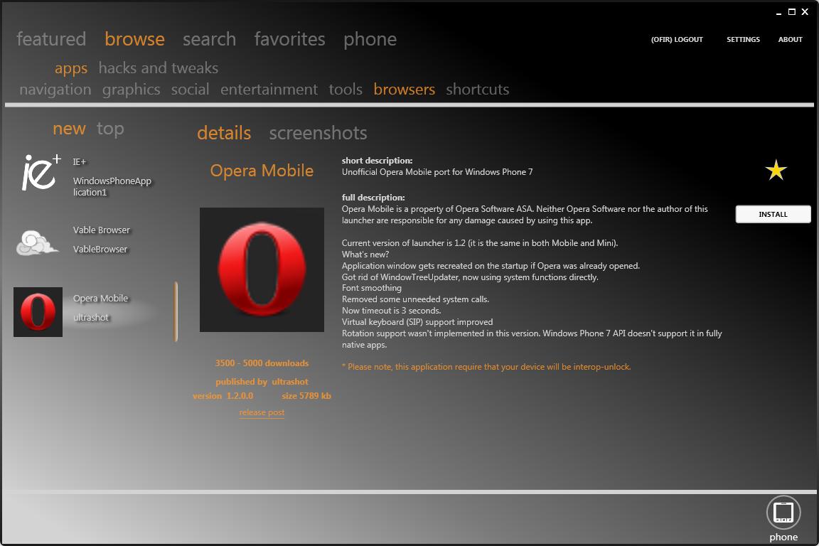 Bazaar: Il Marketplace alternativo per Windows Phone disponibile in