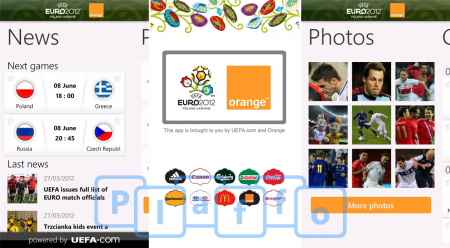 Euro 2012 Windows Phone
