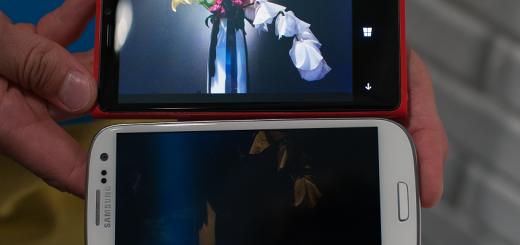 Lumia 920 vs GS3