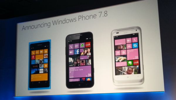 Windows Phone 7.8 Windows Phone 7.8 dalla Cina con furore