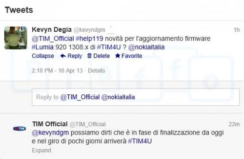 TIM: Aggiornamento firmware 1232.5957.1308.x per Nokia Lumia 920/820