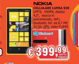 Nokia lumia 920 in offerta da expert papino a 399 99 for Papino expert sciacca volantino