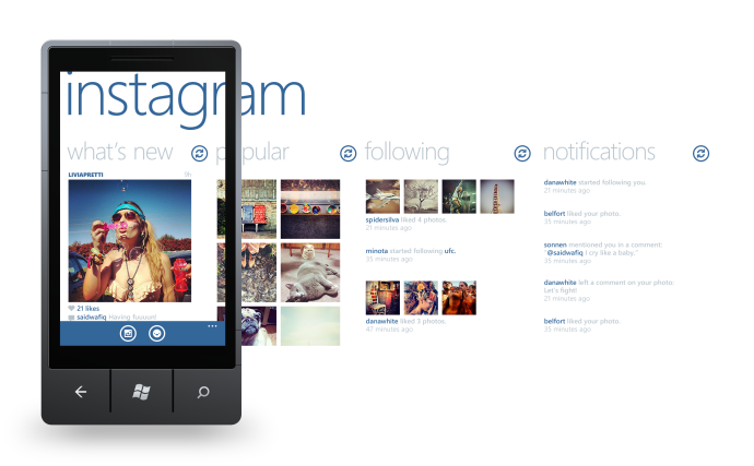 fullInstagramWindowsPhone 690x427 Instagram su Windows Phone e BBX? <br>Si, ma non in tempi brevi