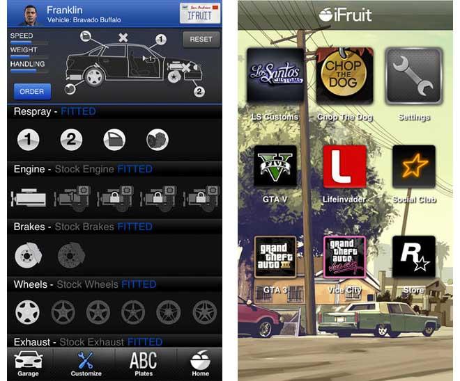 Immagini della versione iOS