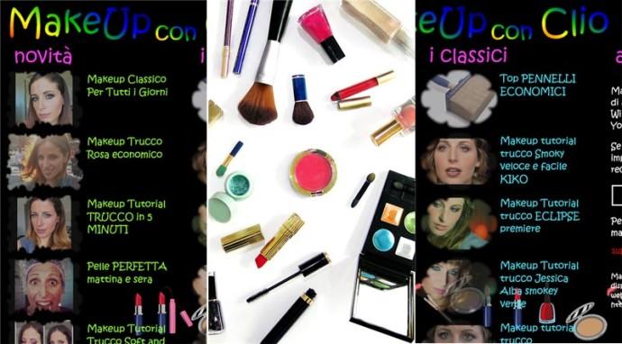MakeUp con Clio