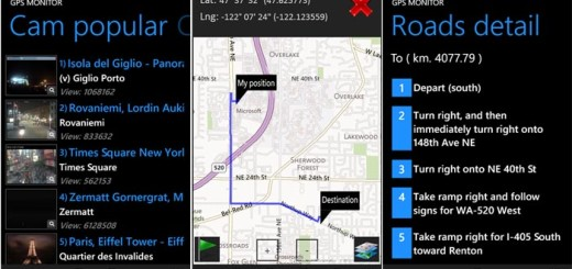 GPS monitor