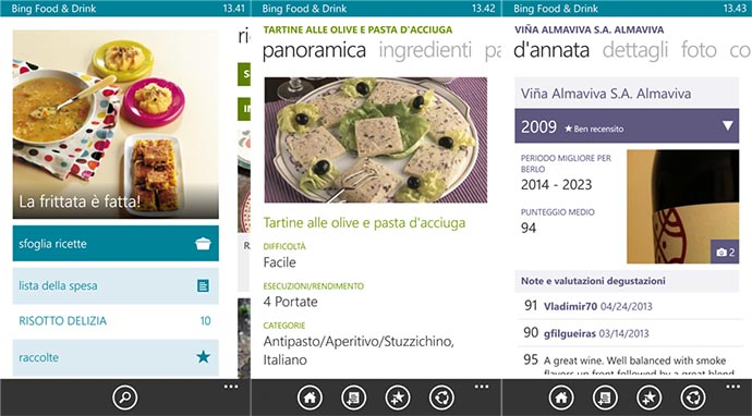 Bing Food & Drink Beta