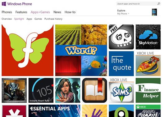 wp8-app-store