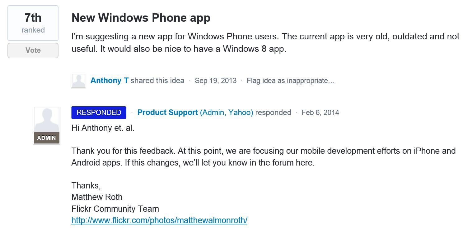 Flickr-Windows-Phone-app