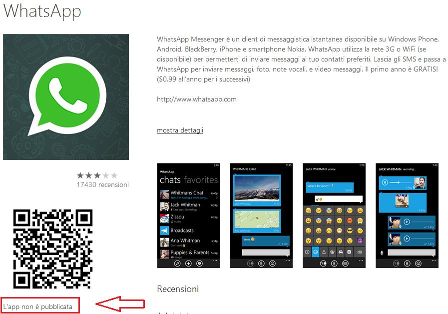 Ricerche correlate a scaricare whatsapp su nokia lumia 625