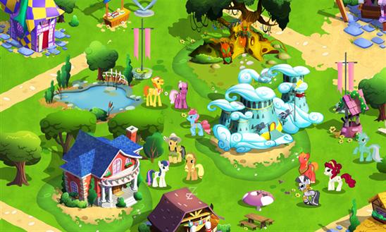 L'amicizia è Magica: Il Gioco Gameloft