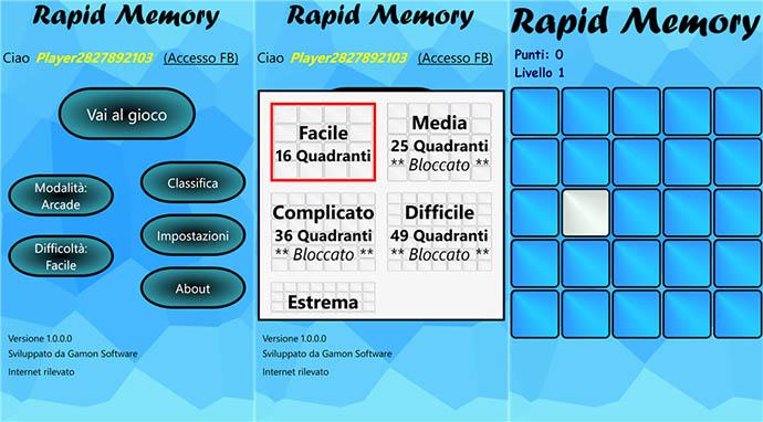 Rapid Memory
