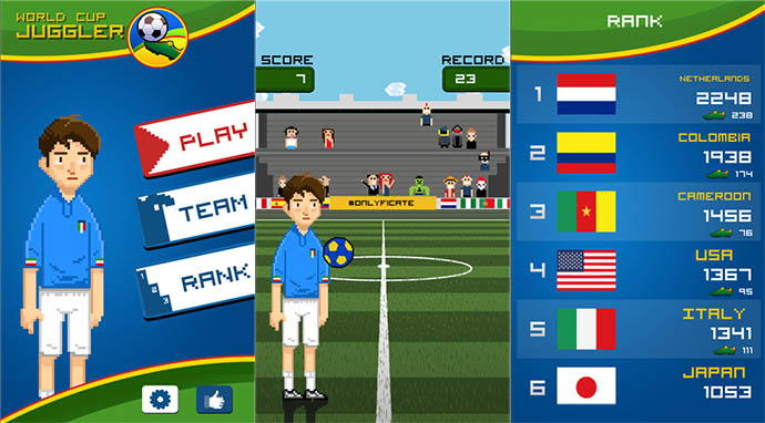World Cup Juggler
