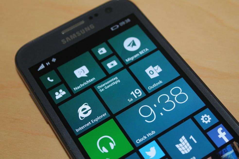 Samsung ativ s windows phone apps directories