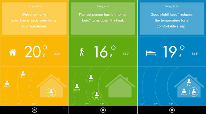 Tado l app ufficiale per wp8 1 utile per gestire il - Riscaldare casa in modo economico ...
