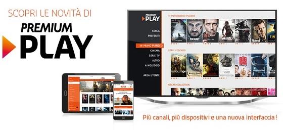 L app ufficiale premium play in arrivo su windows phone a for Premium play su smart tv calcio live