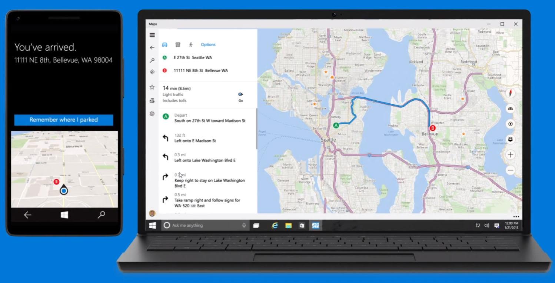 Windows10-Maps