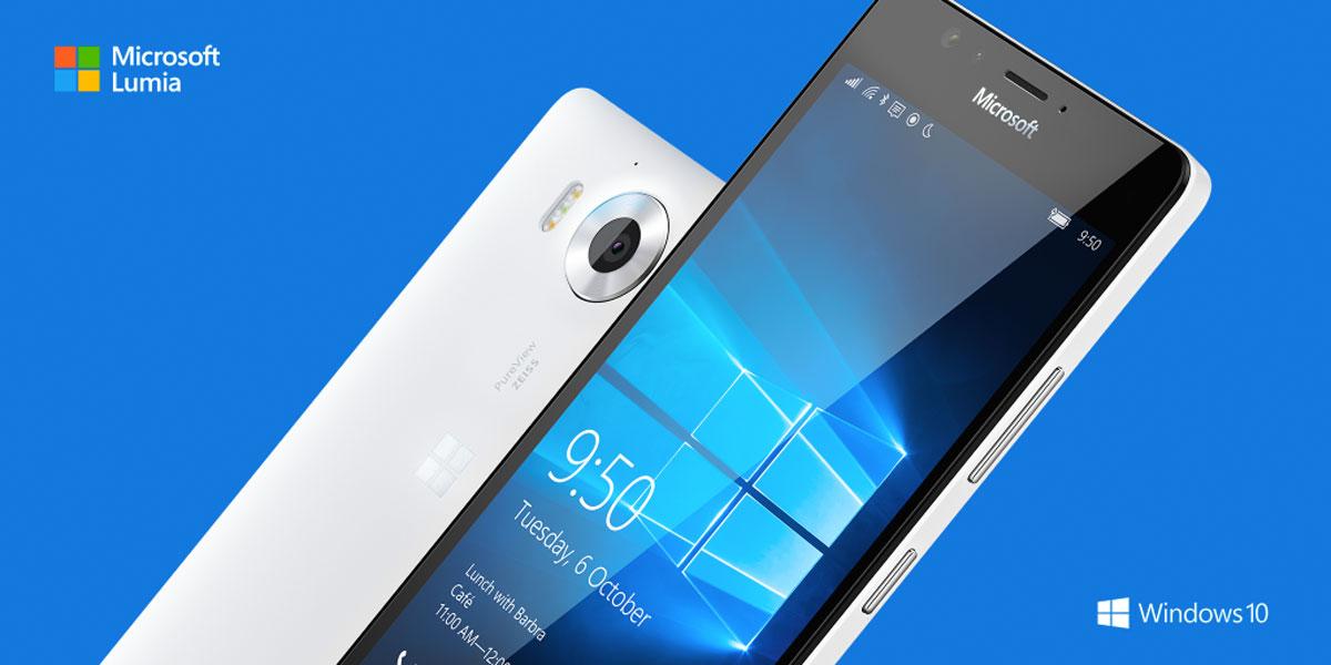 Sblocco con il doppio tocco disponibile su Lumia 950 e 950XL con il nuovo firmware