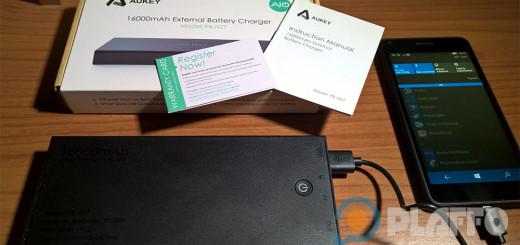 La batteria portatile Aukey da 16.000 mAh a 16.99€ su Amazon Italia con sconto esclusivo per gli utenti di Plaffo!