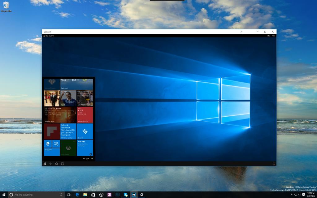 Windows 10 build 14316 rilasciata per gli Insiders con tantissime novità