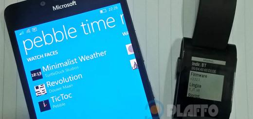 Pebble Time Manager 10 porta il supporto alle notifiche su Windows 10 Mobile Anniversary Update!