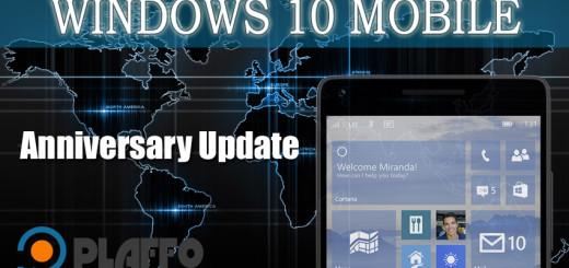 Windows 10 Mobile Anniversary Update disponibile ufficialmente!