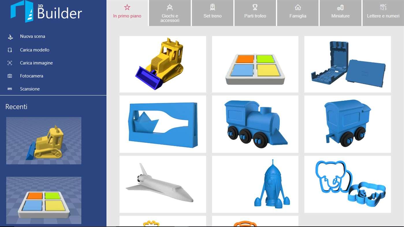 3d Builder L App Per Visualizzare Personalizzare E