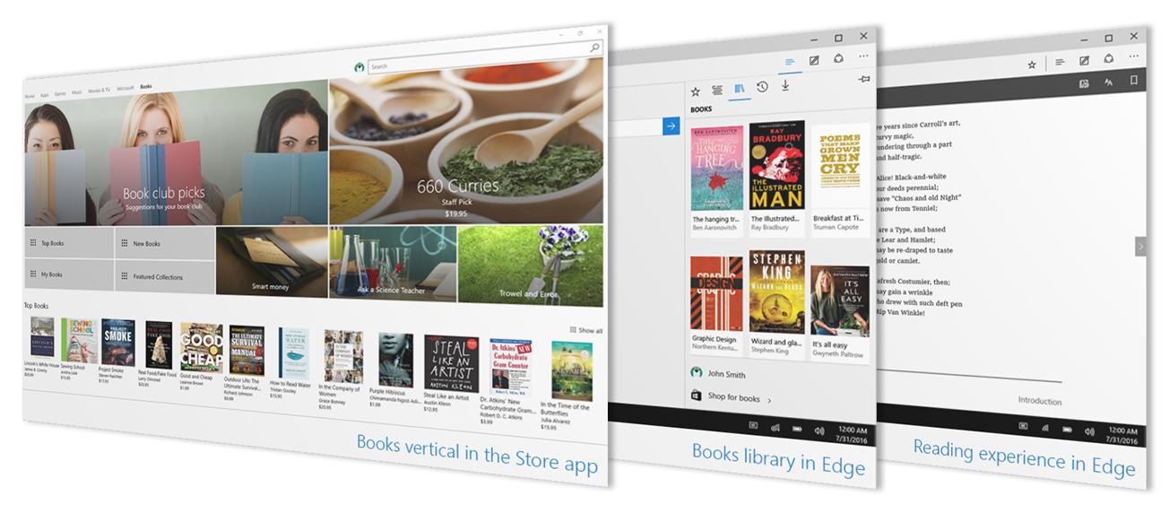 Microsoft rimuove la sezione Libri dallo Store di Windows 10